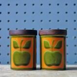 Hornsea Pottery apple shakers