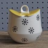 Hornsea Pottery Tricorn sugar bowl