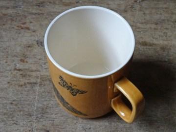 Vintage Hornsea Virgo mug | H is for Home