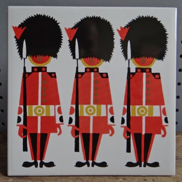 Kenneth Townsend Grenadier Guards tile