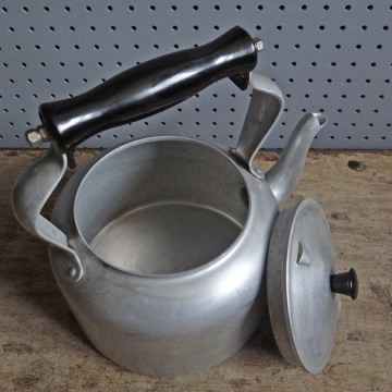 large aluminium kettle