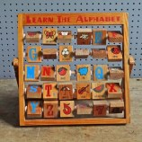 Learn the Alphabet wooden game
