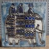 Lisa Larson Gustavsberg elephant tile