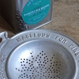 Macleod aluminium tea strainer