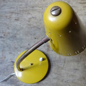 Mustard desk lamp | H is for Home