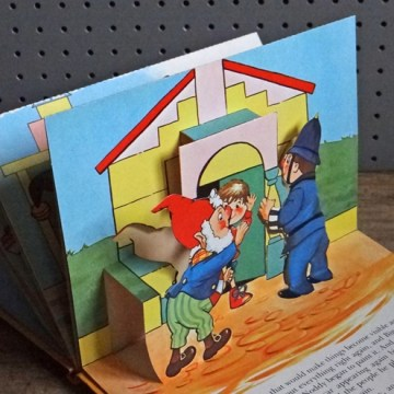 Noddy pop-up book