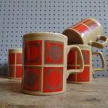 Staffordshire Potteries op art mugs