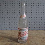 vintage glass Pepsi-Cola bottle