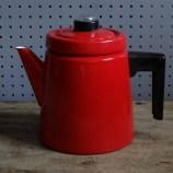 Red Finel coffee percolator