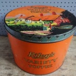 Riley's Variety Toffee tin