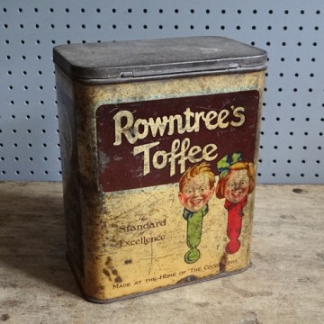 Rowntree's toffee tin