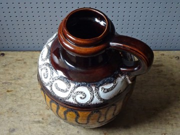Vintage Scheurich 486-38 West German vase | H is for Home