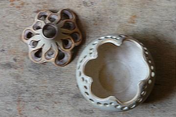 Vintage Shelf Pottery burner | H is for Home