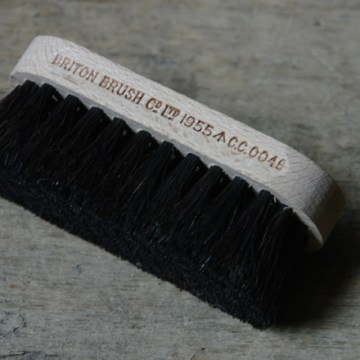 Vintage shoe brush | H is for Home