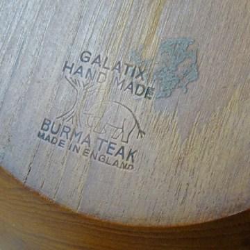 Vintage Galatix teak salad bowl and servers | H is for Home