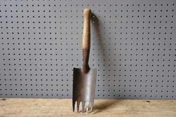 Vintage trowel fork hand tool