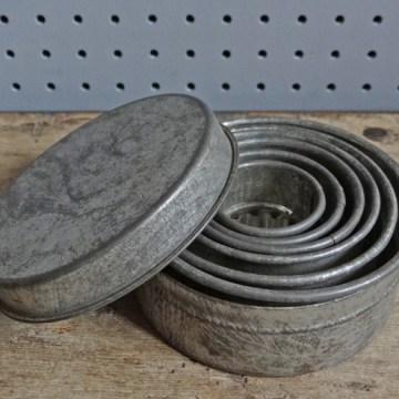 wavy cookie cutter set