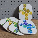 Worcesterware coaster set