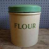 Worcester Ware flour tin
