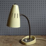 yellow 50s Pifco desk lamp