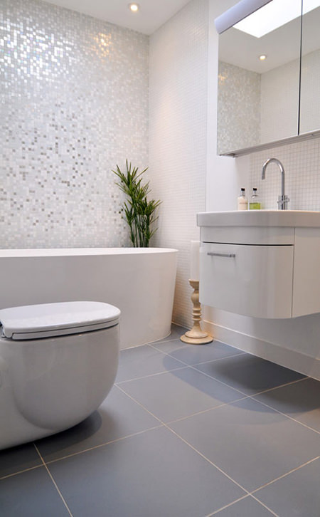 7 steps to make the most of a small bathroom - H is for Home