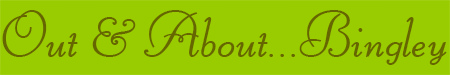'Out & About... Bingley' blog post banner