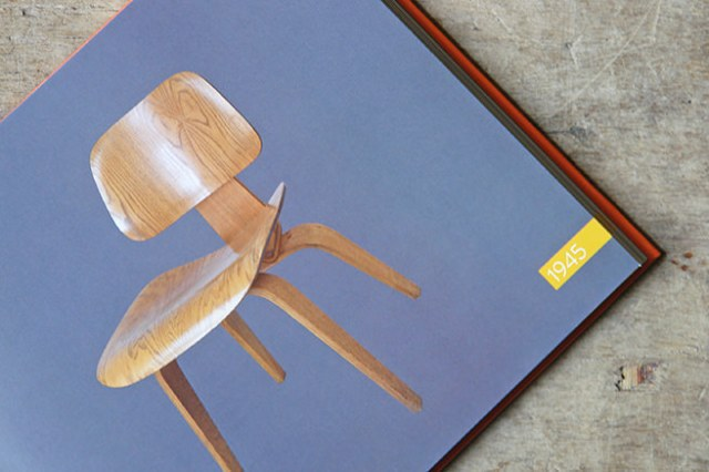 Charles and Ray Eames designed DCW chair