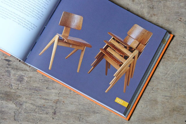 Stack of Hillestak chairs designed by Robin Day for S Hille and Co