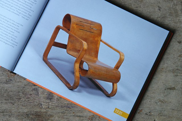 Paimio chair designed by Alvar Aalto