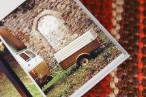 page in My Cool Campervan featuring a Bedford CF campervan with its trailer