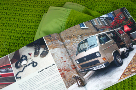 page in My Cool Campervan featuring a Caravelle Club campervan