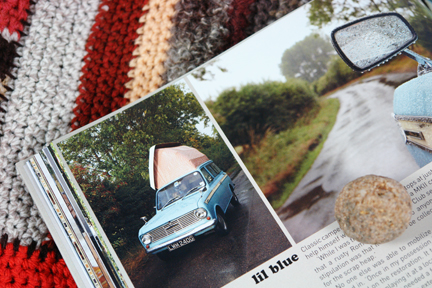 page in My Cool Campervan featuring a Dormobile Roma MKII micro-camper named Lil Blue