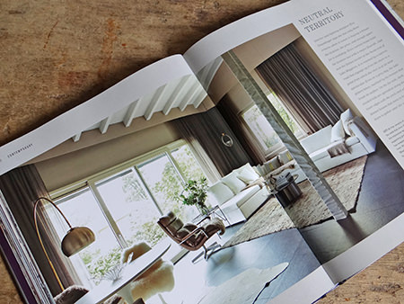 Neutral Territory chapter from the Farrow & Ball 'Decorating with Colour' book by Ros Byam Shaw with photography by Jan Baldwin