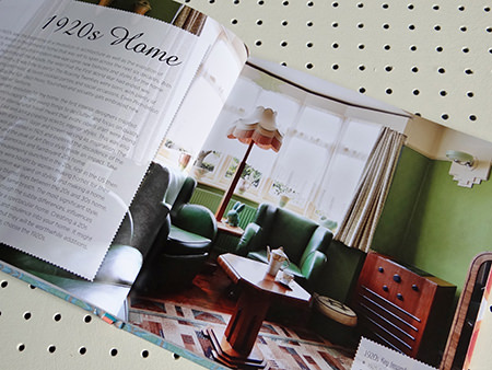 'Style Me Vintage' '1920s' chapter page | H is for Home
