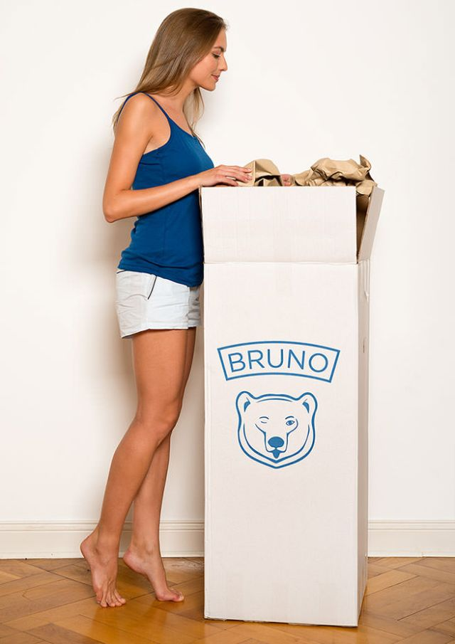 Getting a Bruno Mattress out of its box