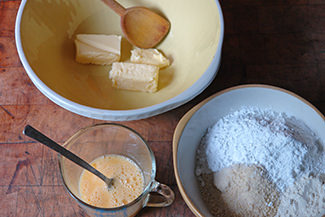 Frangipane ingredients | H is for Home