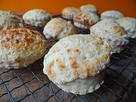 Home made buttermilk scones | H is for Home