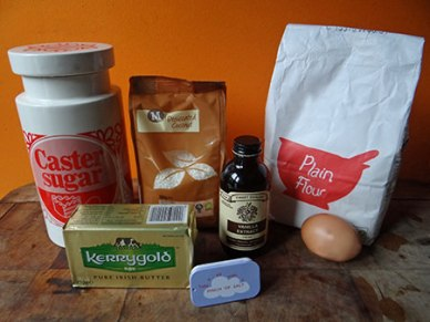 coconut shortbread ingredients