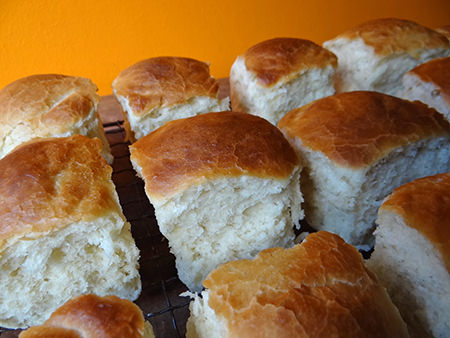 Cooked express rolls separated | H is for Home