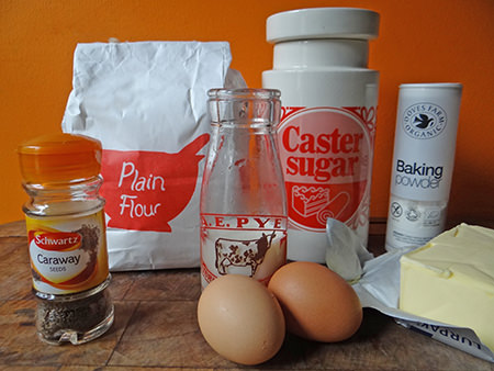 Luncheon seed cake ingredients