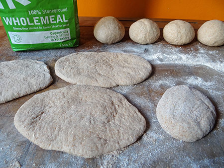 pitta dough preparation | H is for Home