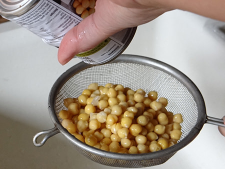 rinsed chickpeas | H is for Home