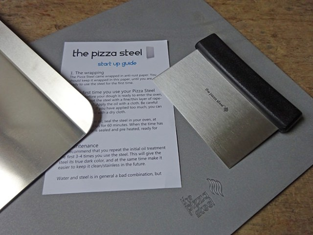 Pizza steel kit | H is for Home