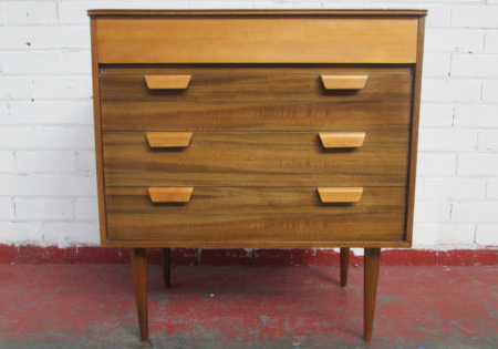 Vintage Uniflex chest of drawers