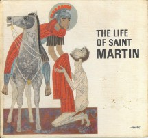 Cover of 'Life of St Martin' vintage children's book | H is for Home