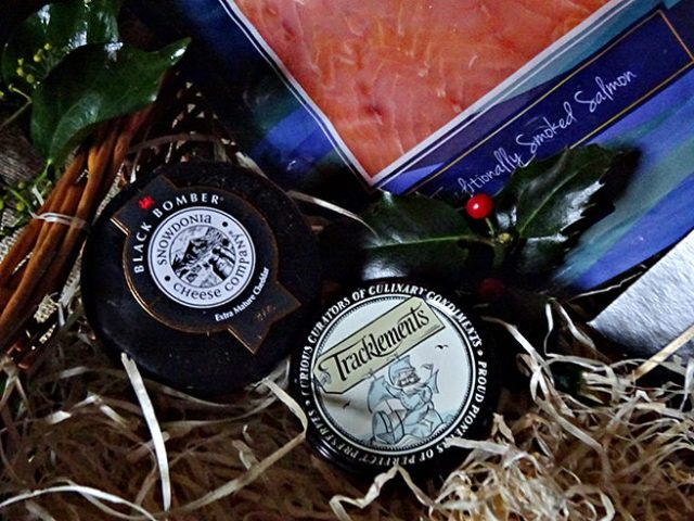 Cheeses in the Grand Hamper from Clearwater Hampers | H is for Home