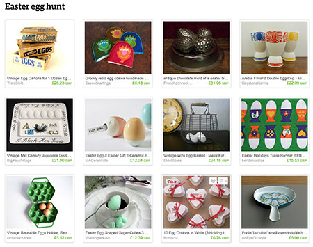 'Easter egg hunt' Etsy List curated by H is for Home