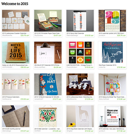 'Welcome to 2015' Etsy List curated by H is for Home