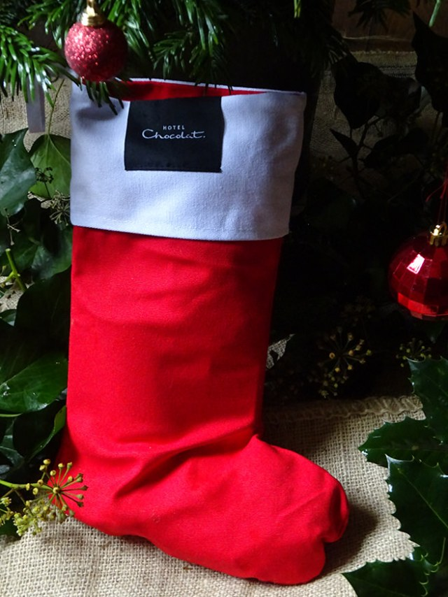 Hotel Chocolat Christmas stocking | H is for Home