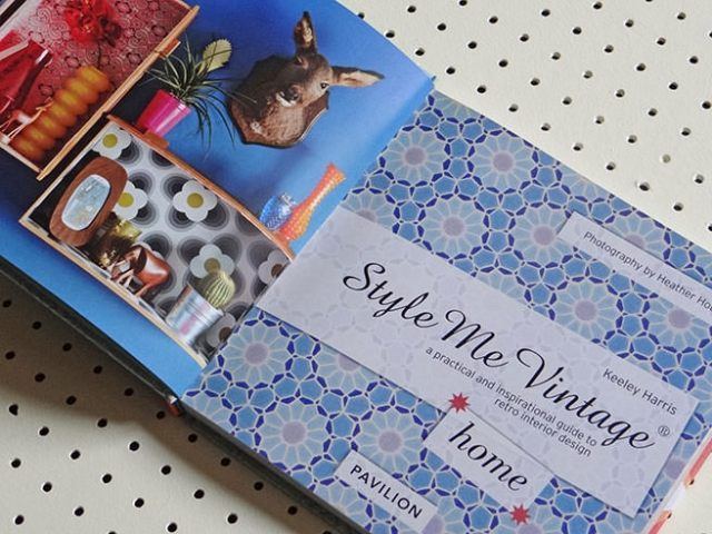 'Style Me Vintage -home' book by Keeley Harris